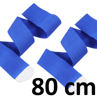 "pair of elastic velcro tape - 80 cm (~31"")"